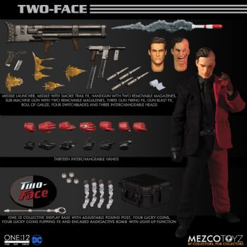 Mezco One:12 Collective DC Comics Two Face Action Figure - Full Payment Pre-Order